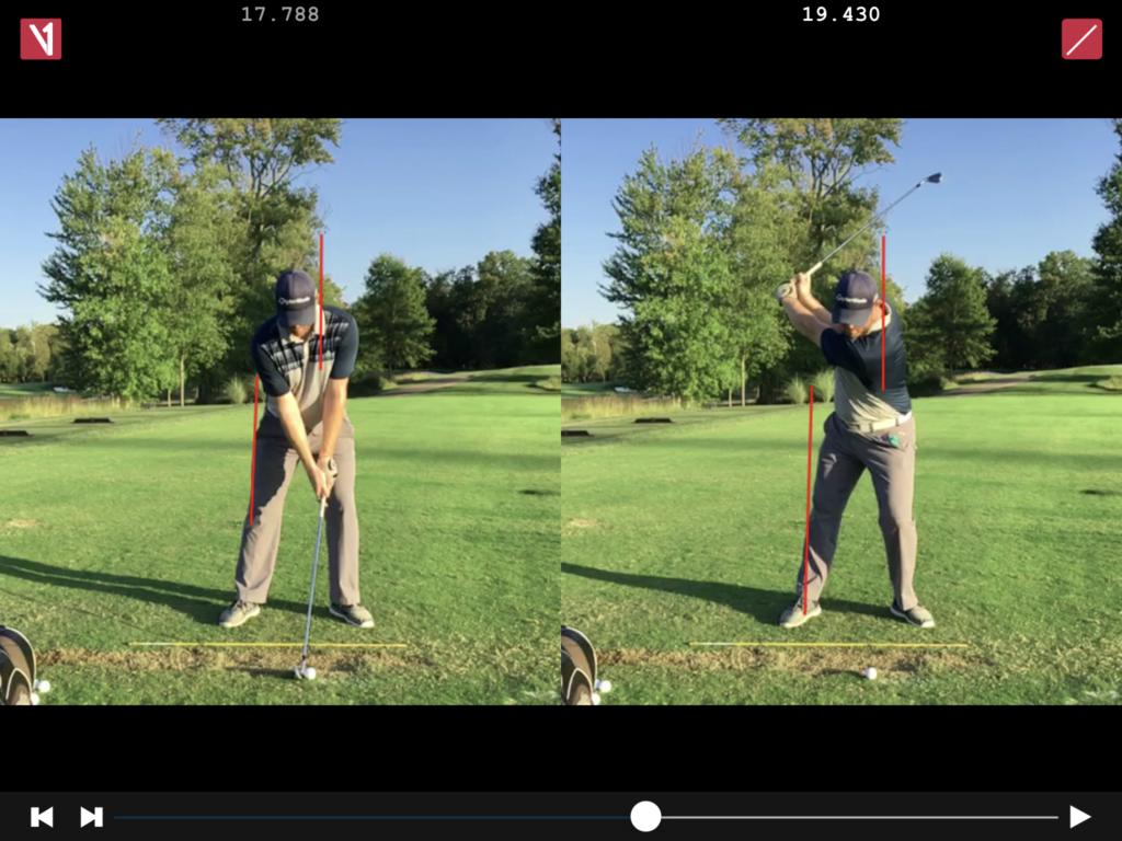 James Parker Golf - Golf Swing Side Tilting and Extending