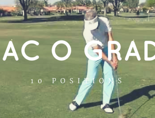 The 10 Golf Swing Positions of Mac O Grady
