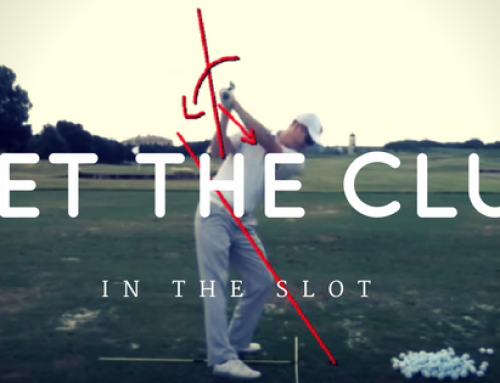 How To Get The Golf Club In The Slot