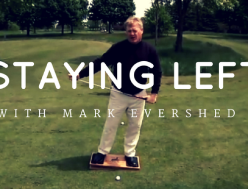 Mark Evershed – Staying Left With The Weight Shift Monitor