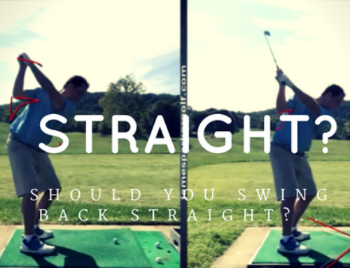 Should You Swing Straight Back?