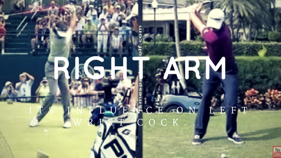 James Parker Golf - Right Arm Fold & It's Influence on Left